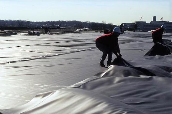 Flat Roof EPDM Installation